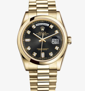 Replica Rolex Day - Date Watch: 18 kt geelgoud - M118208 - 0118