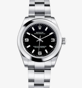 Replica Rolex Oyster Perpetual 31 mm Watch: 904L staal - M177200 - 0004